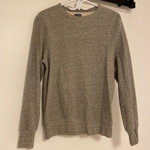 Jcrew vintage fleece sweatshirt size small